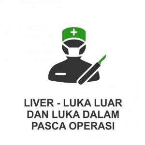 LIVER - LUKA LUAR DAN DALAM - PASCA OPERASI